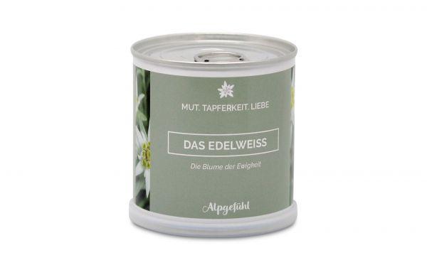 Edelweiss - Blume aus der Dose