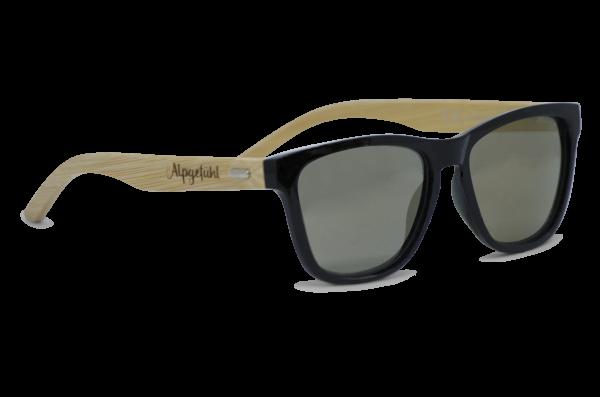 Alpgefühlsonnenbrille Holz