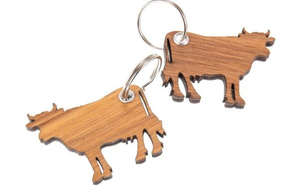 Schlüsselanhänger Kuh
