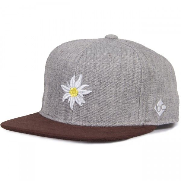 Cap Edelweiß - Frühlingsgrau