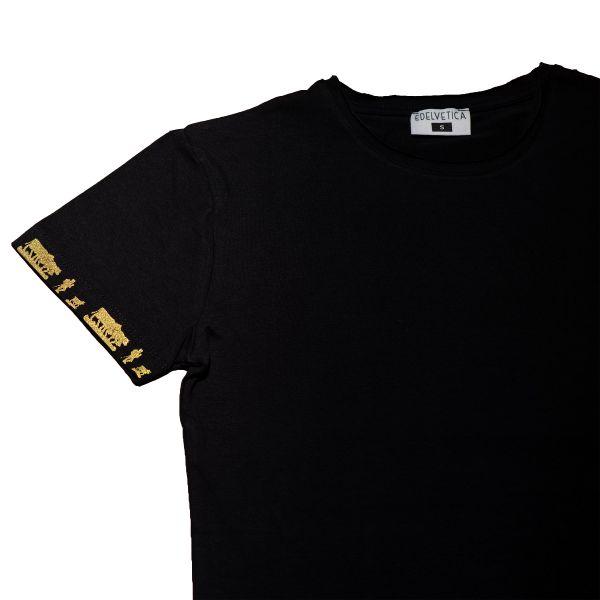 Herrenshirt Alpaufzug Gold